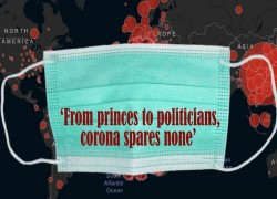 'From princes to politicians, corona spares none'