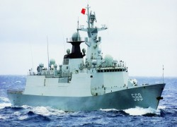 China lays keel for Pakistan Navy's second type 054A missile frigate
