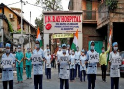 INDIAN MEDICS SAY CORONAVIRUS CRITICS BEING MUZZLED