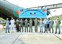 BAF C-130J aircraft to bring medical aids from China