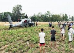 India's expensive Apache chopper makes emergency landing due to technical glitch