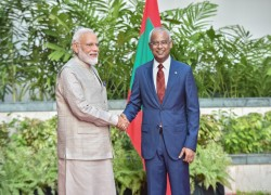 India extends US$ 150 mln currency swap support to Maldives