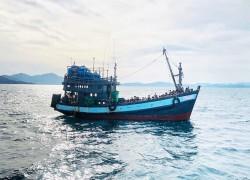 Rohingya refugees sent to remote Bangladeshi island after weeks at sea