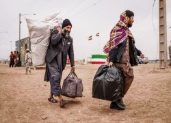 Afghanistan probes reports Iranian guards forced migrants into river