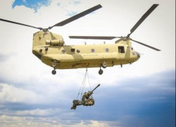 US National Guard deploys CH-47 Chinook helicopters to Afghanistan