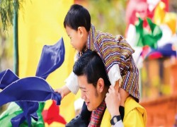 The best photos of the Bhutanese Royal Family, starring the adorable Prince Jigme Namgyel Wangchuck