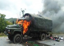 Ta'ang army attacks Myanmar military convoy in Shan state