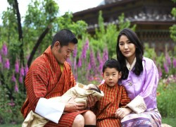 Bhutan's new royal baby makes his Instagram debut