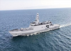 Keel laying of Pakistan 1st corvette held in Turkey