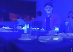 Black light experiment shows how quickly COVID-19 can spread