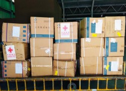 China donates medical material towards COVID-19 relief efforts