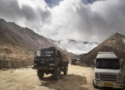 The high roads to border conflict through India and China