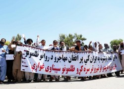 Tensions between Iran and Afghanistan rise over police killing of migrants