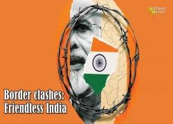 Border clashes: Friendless India