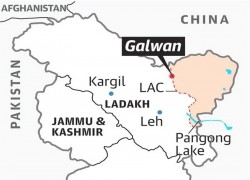 China calls for India's withdrawal from Galwan Valley