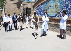 Coronavirus sweeps through Afghanistan's security forces