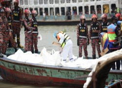 32 BODIES RECOVERED AFTER LAUNCH CAPSIZES IN BURIGANGA