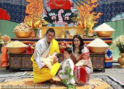 Bhutan's prince finally gets a name: Jigme Ugyen Wangchuck