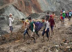 Myanmar jade mine collapse kills at least 162