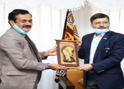 PAKISTAN HAS EXPLORED POSSIBLE WAYS TO FURTHER ENHANCE BILATERAL TIES WITH SRI LANKA.
