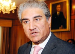 PAK FM QURESHI TESTS POSITIVE FOR COVID-19, GOES INTO SELF-QUARANTINE