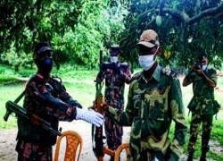 'DRUNK' BSF MAN TRESPASSES INTO BANGLADESH, LATER RETURNED THROUGH FLAG MEETING: BGB