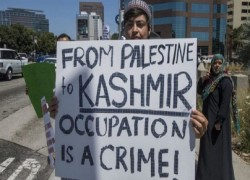 India wants negotiation on Israel annexation, but fails to negotiate on Kashmir
