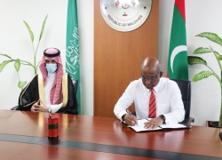 Maldives signs USD 50 million agreement with Saudi Arabia