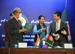 INDIA SIGNS 5 MOUS FOR AFGHAN EDUCATION PROJECTS