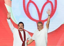 Lankan ruling party's electoral pitch for strong and stable government