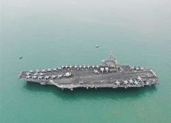 Beijing 'is ready to counter US' as both navies hold drills in South China Sea