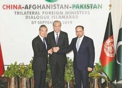 Pakistan, China, Afghanistan seek 'orderly' US withdrawal to prevent terror resurgence