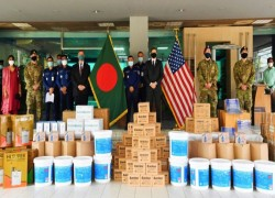 US EMBASSY PROVIDES COVID-19 RESPONSE EQUIPMENT TO BANGLADESH POLICE