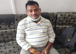 UP'S MOST WANTED GANGSTER VIKAS DUBEY, MAIN ACCUSED IN KILLING OF 8 COPS IN KANPUR, ARRESTED IN MP