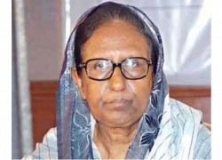 FORMER BANGLADESH HOME MINISTER SAHARA KHATUN MP DIES AT BANGKOK AGED 77