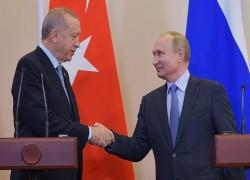 RUSSIAN PRESIDENT VLADIMIR PUTIN, ERDOGAN DISCUSS HAGIA SOPHIA OVER PHONE