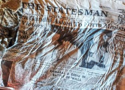 HOW INDIAN NEWSPAPERS FROM 1966 WERE FOUND IN THE FRENCH ALPS IN 2020