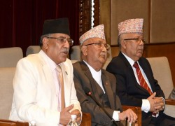 NEPAL JOINS OLI-DAHAL MEET SEEKING RESOLUTION
