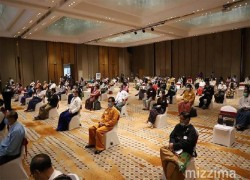 Myanmar political parties discuss election code of conduct