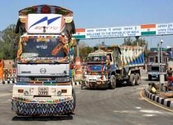AFGHAN GOODS ENTER INDIA THROUGH WAGAH BORDER
