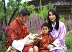 These photos prove Bhutan's new Crown Prince is cuter than baby Archie