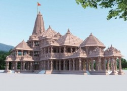 AYODHYA'S RAM TEMPLE WILL BE 161-FOOT TALL, AN INCREASE OF 20 FEET