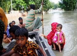 'A critical situation': Bangladesh in crisis as monsoon floods follow super-cyclone