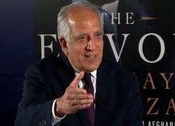 INTRA-AFGHAN TALKS NEVER BEEN CLOSER: KHALILZAD
