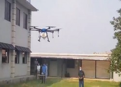 Pakistan-made drones to fight locusts