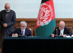 AFGHAN LEADERS URGED TO COMPLETE CABINET