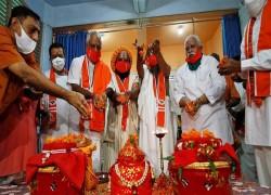 বিতর্কিত জায়গায় মন্দির নির্মাণকাজের উদ্বোধনে উপস্থিত থাকবেন ভারতের প্রধানমন্ত্রী