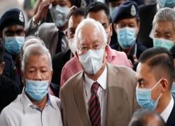 MALAYSIA'S NAJIB GETS 12 YEARS IN JAIL FOR 1MDB-LINKED GRAFT CASE
