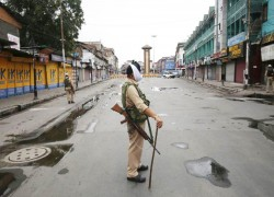 Curfew ahead of first anniversary of revocation of Kashmir's statehood