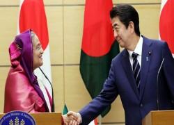 JAPAN TO GIVE $329M TO BANGLADESH TO COMBAT COVID-19: ABE TELLS HASINA